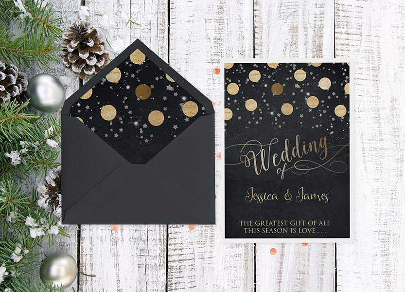 Christmas Wedding Invitations.Wedding Archives The Invite Hub Personalised Wedding