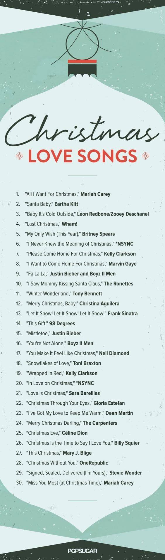 Love Song List
