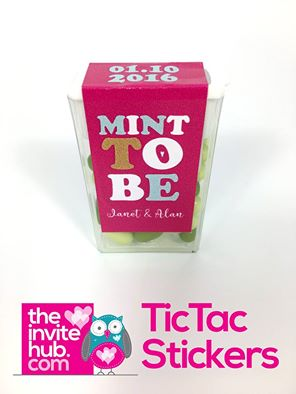 Wedding Favors - Tic Tac