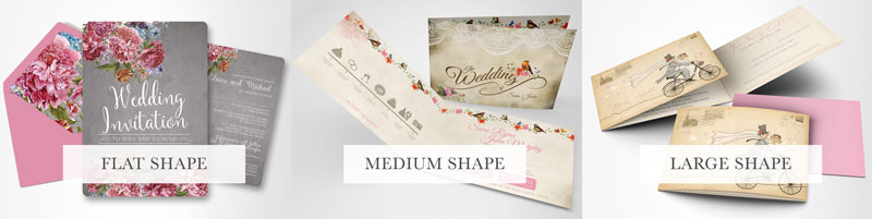 we print on two types of card a luxurious pearl shimmer card and a textured matt old mill card kraft card available on request