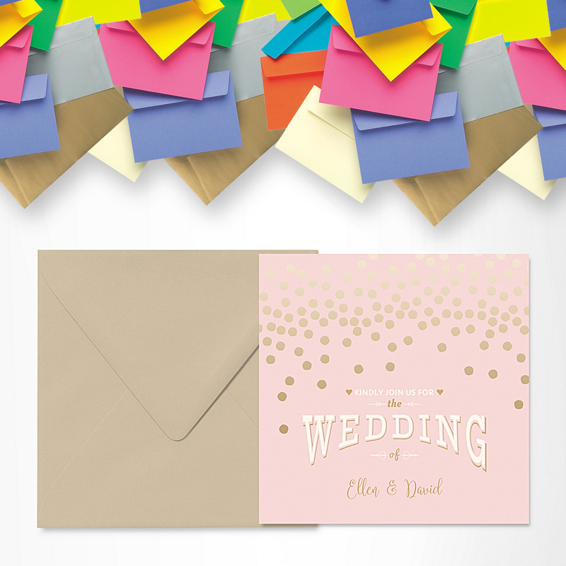 envelopes RSVP Reply Cards