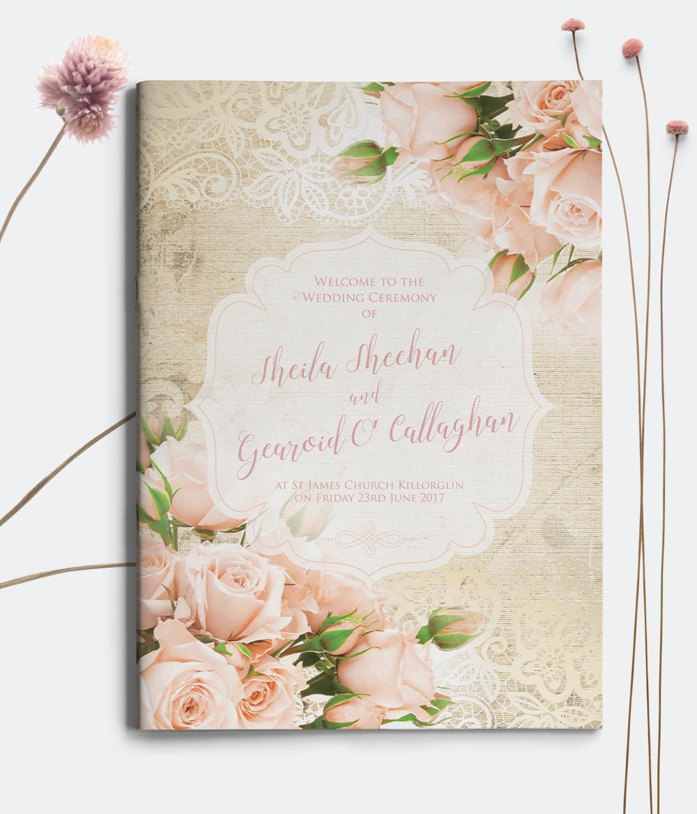 ac7bc9d7c2 Wedding Mass Books - Ceremony Books - Wedding Stationery - The ...
