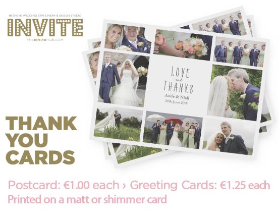 wedding thank you cards the invite hub