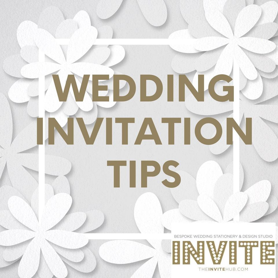 wedding invitation tips wedding 2019