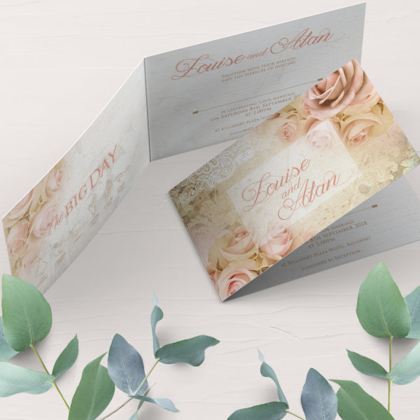 medium wedding invitation